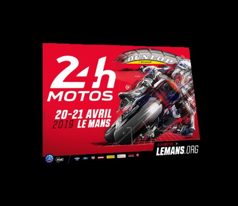 Affiche 24h motos 2019